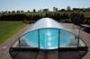 high light transmission and impact strength polycarbonate swimming pool cover