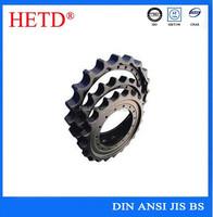 hetd brand high precision hardening tooth chain sprocket wheels
