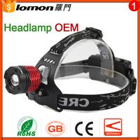 Lomon 5W Long Range Most Powerful Headlamp,High Power Headlamp,Rechargeable Led Headlamp