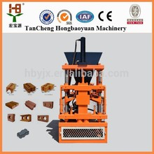 production of bricks and blocks sy1-10 clay interlock interlock block making machine