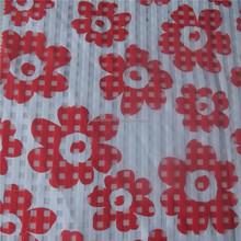 Printed flower organza ,Flower printing children dress