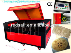 Co2 Hot graphic laser cutter/engraver with Red Dot 1200*900 laser cutter 100W