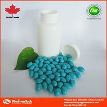Private label OEM saw palmetto softgel capsules