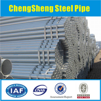 2 inch ASTM A53 Gr.B Galvanized Steel Tube for Greenhouse Structure