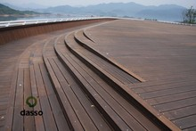 superior quality patent protected Thermo treated outdoor Bamboo decking