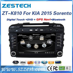 ZESTECH 2 din 8 inch touch screen car multimedia player for KIA SORENTO 2015 car stereo with car GPS multimedia system