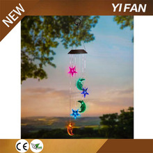 Party Gift Supplier solar hanging wind spinner light