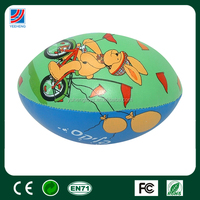 lovely PU rugby ball