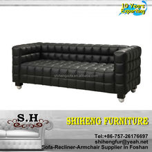 Classic Sofa Furniture & Living Room Genuine Leather Sofa set A609