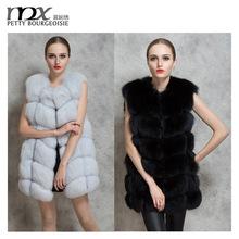 Latest design faux mink coat fox fur coat woman