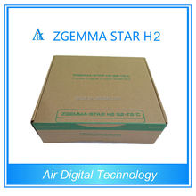 zgemma-star h2 media player sattelite tv receiver ka band lnb for Spain