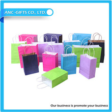 2015 hot sell New Luxury Shopping Paper Bag for Cloth/ New fancy custome logo printed shopping bag ,gift bag,paper bag with