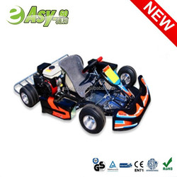 2015 hot 4 wheel 90cc go kart spare parts with safety bumper pass CE certificate
