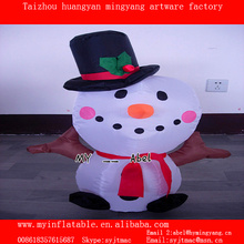 Lovely snowman inflatable snowman