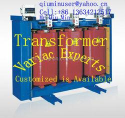 dry cast resin transformer