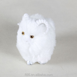 Realistic furry novelty gifts stuffed animal sheep toy