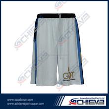 Popular design cheap basketball sets short High quality custom sublimatiom basketball short