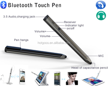 Hot selling smart bluetooth touch pen for Smartphone for answering the phone