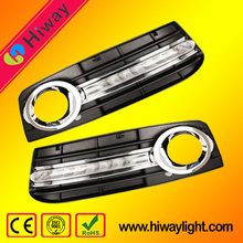 LED DRL Daytime Running Lights for Audi A4L,6LEDs,10W