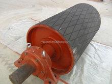 double v flat belt pulley