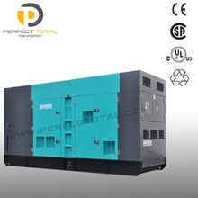 Diesel genset with CUMMINS engine 280KW backup power generator