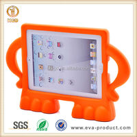 Kids Angry Guy Series Stand Drop Proof Plastic Cover for iPad 2 3 4