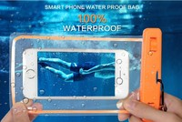 Waterproof dry phone bag for s6 deep diving for iphone case