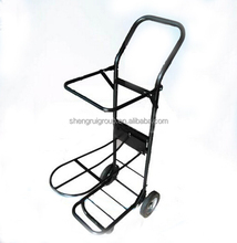 black steel horse equipment with stainless button