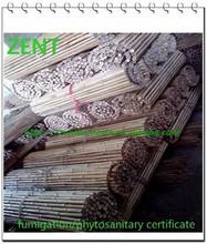 ZENT-71 Expanding folding bamboo garden trellis lattice fence