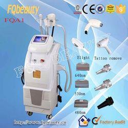 Hot sale black hair removal beuaty machinery laser +Elight epilator-FQA1 ce certification