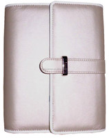 leather table hardcover day planner with clasp