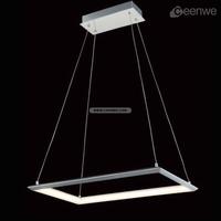 Hot sale LED 31W Lights battery operated pendant light Pendant lighting iron aluminum acrylic chrome Finish