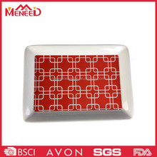Food Use and Accept Custom Order small melamine tray, custom airline food trays