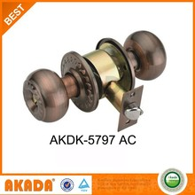 High quality Cylindrical Entrance Knob Lock For Wooden Door