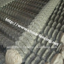 Hebei basketball/tennis chain link fence netting/sport chain link wire mesh fence