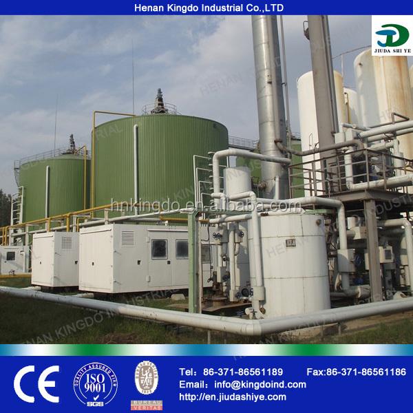 Mini Gas Plant : Kingdo biogas plant mathane gas project power