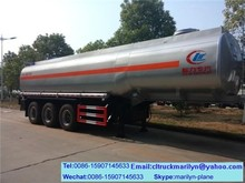 5000 liters fuel tank trailer oil tank for bikes used fuel tanker trailer