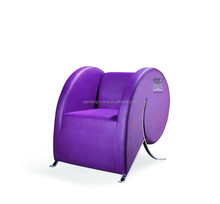 creative modern design public sofa make up chair lobby sofa set for Office reception room leisure sofa 242#