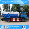 best price high pressure cleaning sewage suction truck with vacuum pump
