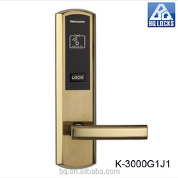 Baisikeni Classic waterproof PCB stainless steel hotel door locks K-3000G1J1