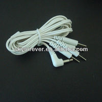 ems electrode lead wire with 4 leads.different style medical tens unit lead wire for massager
