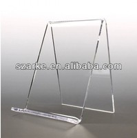 Open Front Style Clear acrylic Easel Display Holders