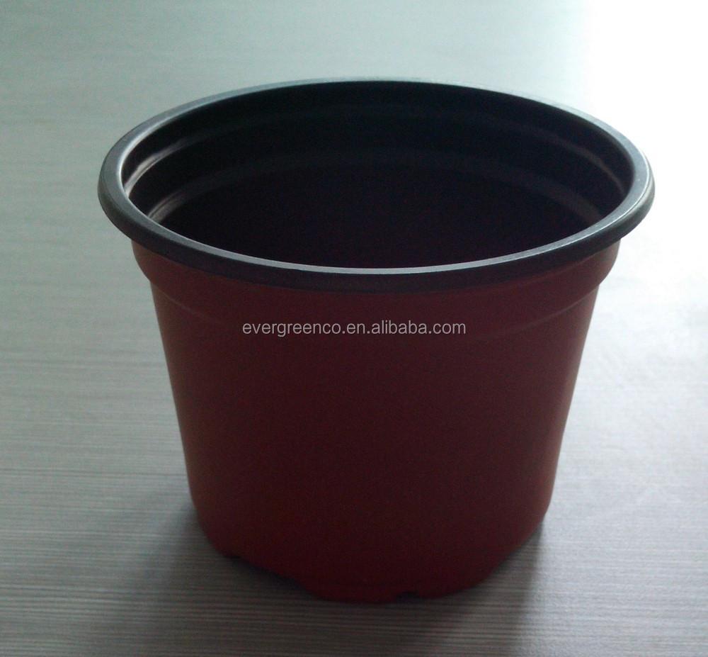 Vasi di plastica per vivaio piante platic vaso di fiori for Vasi plastica grandi