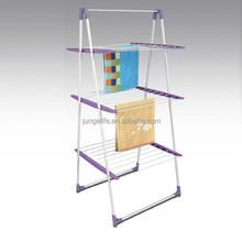 Steel indoor floor clothes drying rack, household clothes washingline