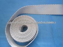 tejido elástico de la cinta