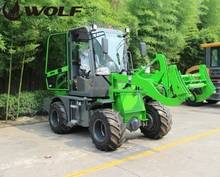 Wheel loader moving type tractors and equipments in china,mini front end loaders