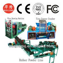 sales promotion the best and cheapest used tire recycling machine waste tyre recycling plant