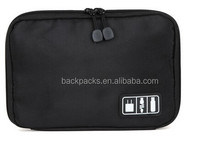 Large Cable Organizer Bags Can Put Hard Drive Cables USB Flash Drives Travel Case Digital Storage Bag Electronic Products