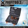 "150pcs 1/4""&3/8""&1/2"" high quality car repair tool kit"