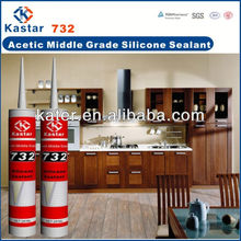 acetic high grade silicone sealant,acid solidified silicone sealant,good tightness silicone sealant